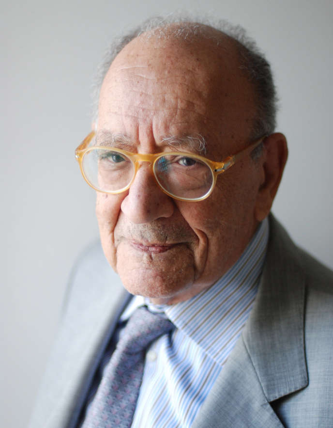 Le psychanalyste Moustapha Safouan, en 2016.