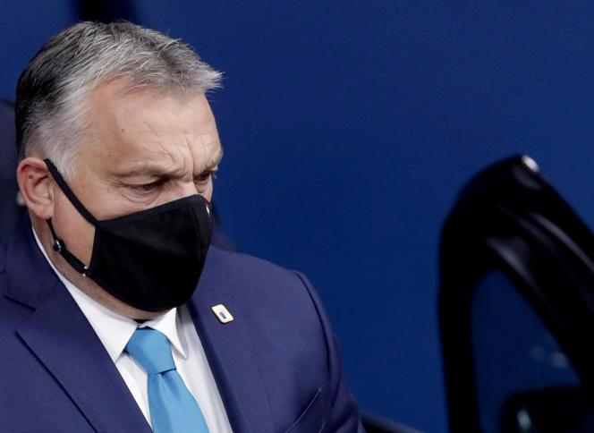 Le premier ministre hongrois Viktor Orban, le 16 octobre à Bruxelles.