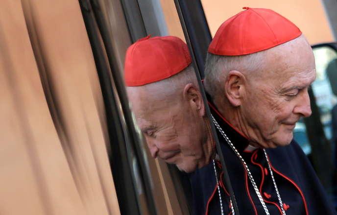L'ex-cardinal archevêque de Washington Theodore McCarrick, en 2013 au Vatican.