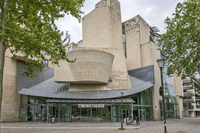 La Cinémathèque française, rue de Bercy, à Paris.