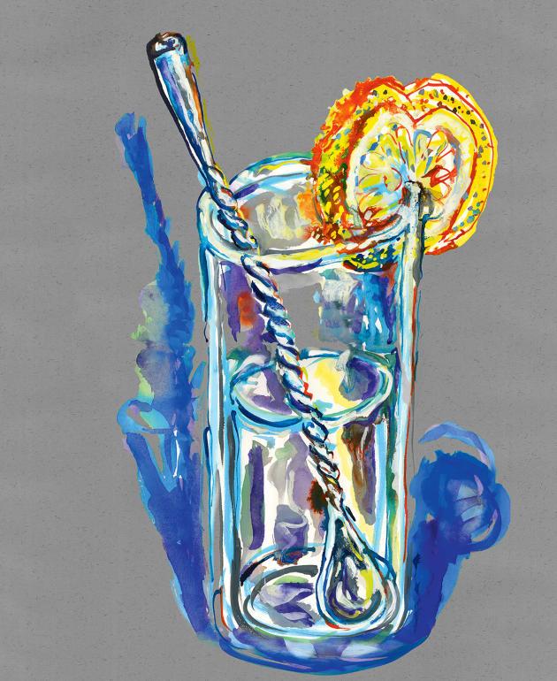 La cuillère à cocktails: c'est à l'extrémité du manche que l'on observe le plus de variations régionales.