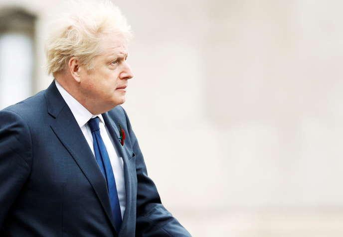 Le premier ministre du Royaume-Uni,Boris Johnson, à Londres, le 11novembre.