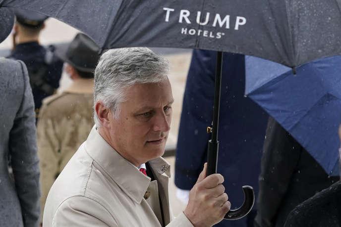 Le conseiller à la sécurité nationale des Etats-Unis, Robert O'Brien, à Airlington (Virginie), le 11 novembre 2020.