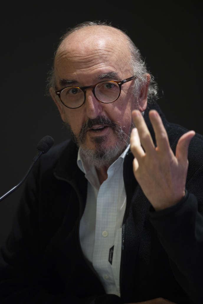 L'homme d'affaires catalan, patron du groupe Mediapro,Jaume Roures, le 21 octobre à Paris.