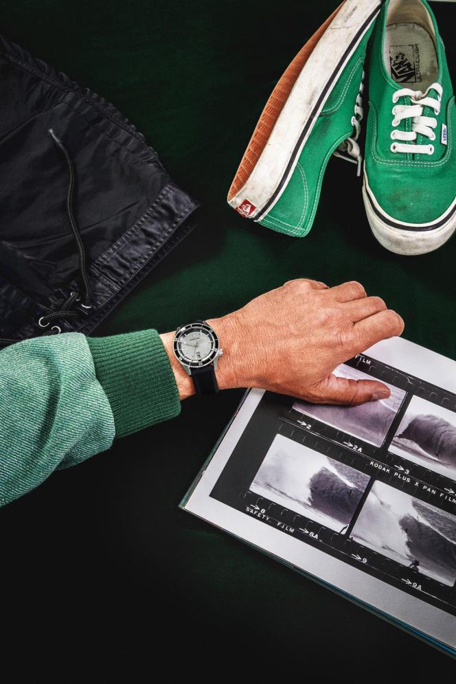 La montre Bonzer Double automatique.