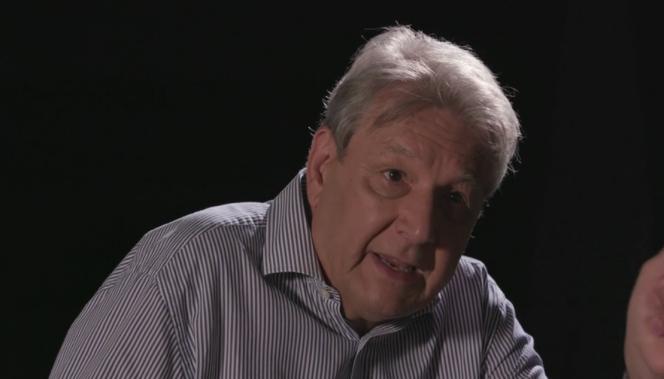 Le pharmacien Serge Rader, dans le film documentaire « Hold-up».