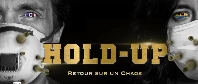 Le film «Hold-up, retour sur un chaos», réalisé par Pierre Barnérias, est disponible en version payante en ligne, depuis le 11novembre.