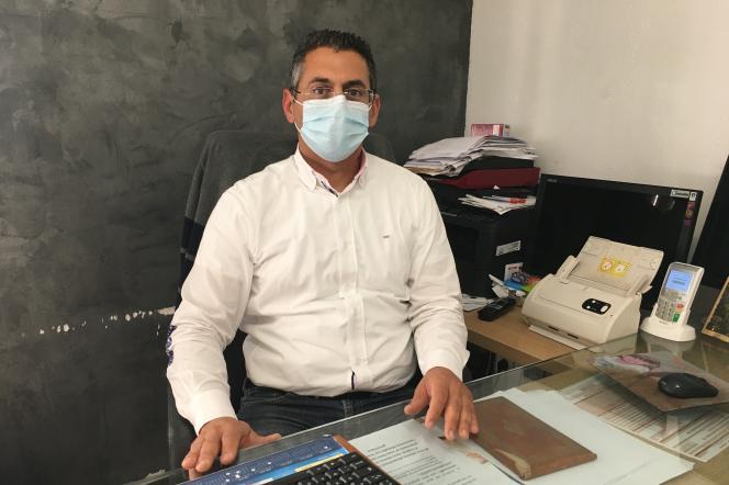 Slim Hadiji, médecin généraliste dans le 13e arrondissement de Marseille (Bouches-du-Rhône).