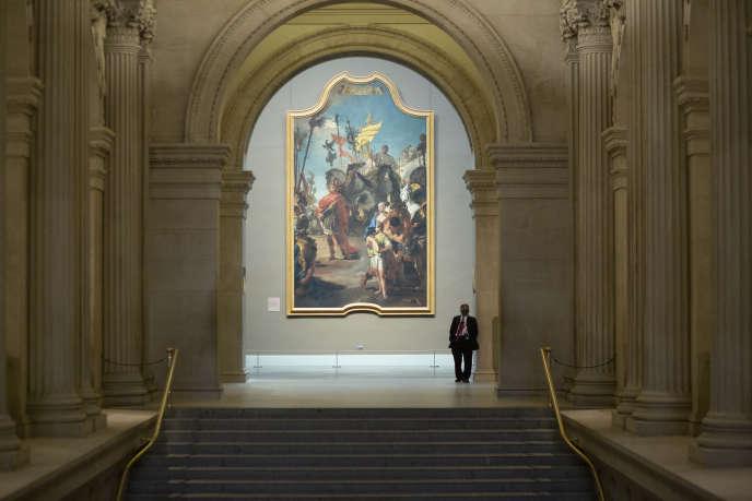 A l'intérieur du Metropolitan Museum of Art de New York, en août.