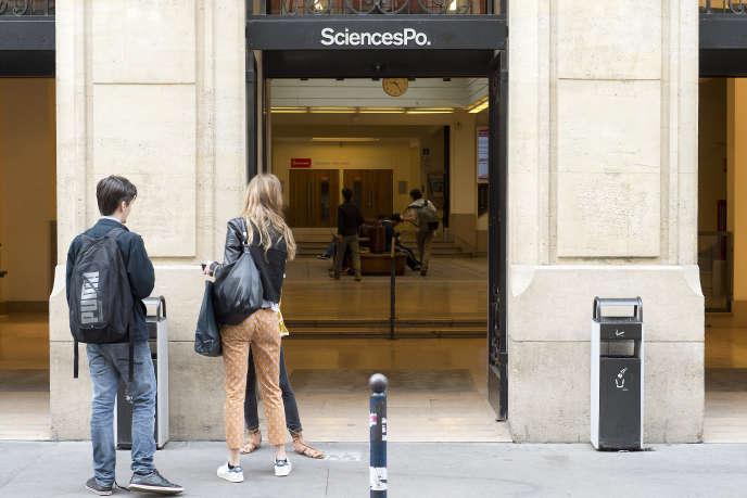 Sciences Po, rue Saint-Guillaume, à Paris.