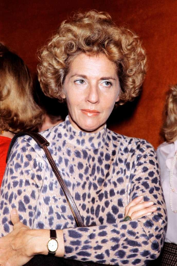 La réalisatrice Nelly Kaplan (1931-2020), le 20 octobre 1979, à Paris.