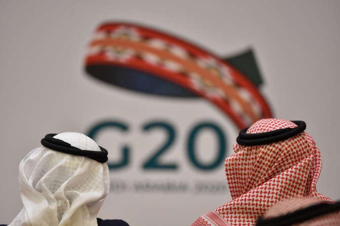 Lors d'une réunion du G20 à Ryadh, en Arabie saoudite, le 23février 2020.