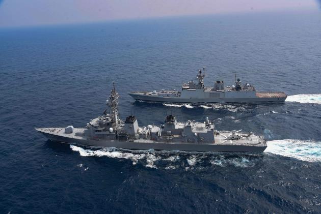 L'Inde, l'Australie, le Japon et les Etats-Unis ont commencé l'exercice naval stratégique «Malabar», dans le golfe du Bengale, le 3 novembre.