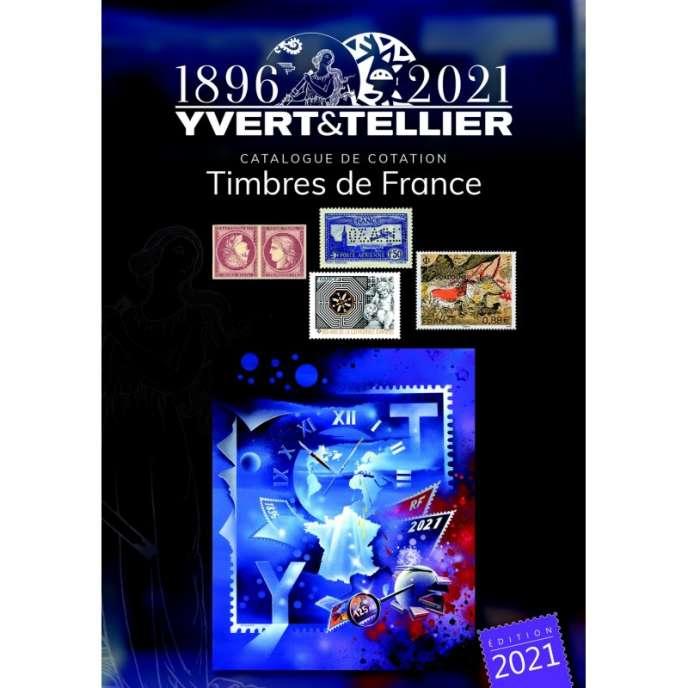 « Catalogue de cotation Yvert et Tellier 2021. Timbres de France », 1 450 pages, 27,90 euros.