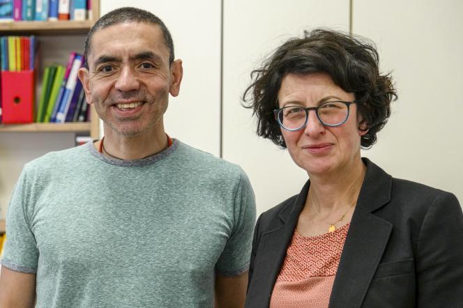 Ugur Sahin et Ozlem Türeci, en mai 2018.