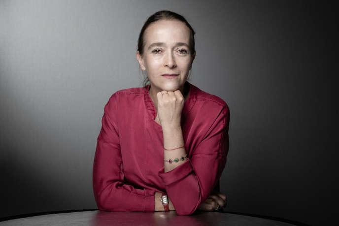 La présidente de France Télévisions, Delphine Ernotte, en septembre 2019, à Paris.