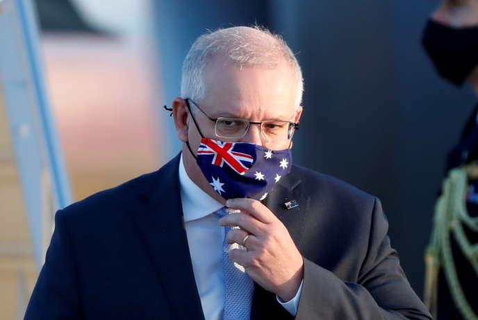 Le premier ministre australien, Scott Morrison, à Tokyo, le 17 novembre 2020.
