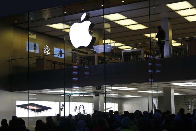 L'AppStore est la deuxième source de revenus de la marque à la pomme.