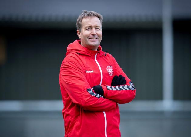 L'entraîneur du Danemark, Kasper Hjulmand, le 16 novembre 2020.
