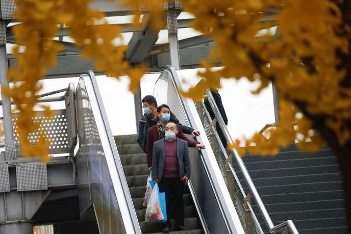 A Pékin, le 16 novembre 2020.