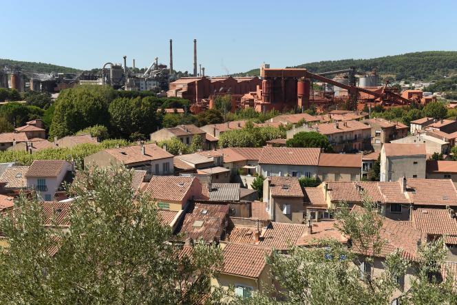 L'usine Alteo, à Gardanne (Bouches-du-Rhône), le 4 septembre.