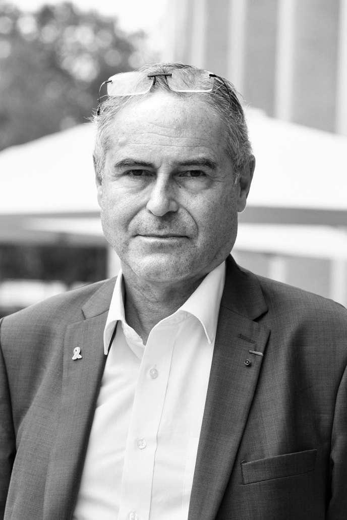 Le docteur Christian Perronne, le 5septembre 2020, à Strasbourg.