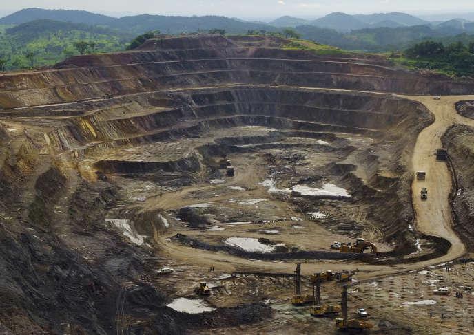 Un mine de cuivre et de cobalt dans la province du Katanga, en RDC, en 2013.