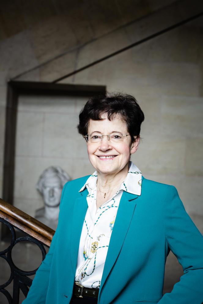 Françoise Combes à l'Observatoire de Paris, le 2 juillet.