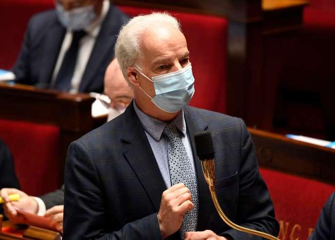 Alain Griset, ministre délégué chargé des petites et moyennes entreprises, le 17 novembre 2020 à l'Assemblée nationale.