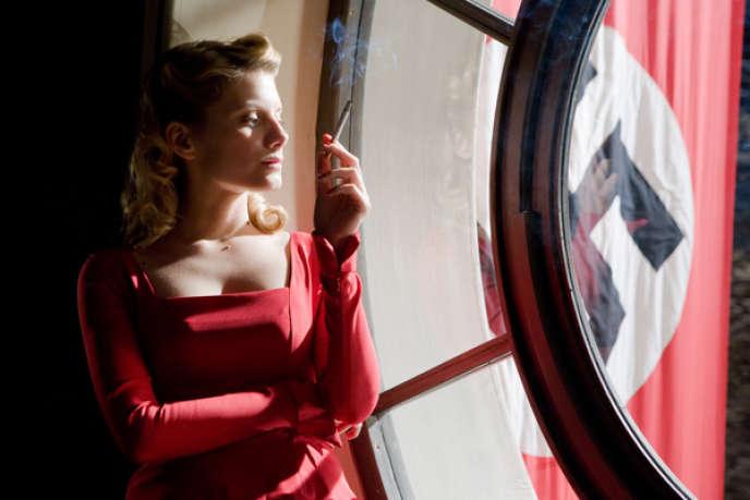 Shoshanna Dreyfus (Mélanie Laurent) est au bord d'obtenir sa vengeance, dans«Inglourious Basterds» (2009), de Quentin Tarantino.