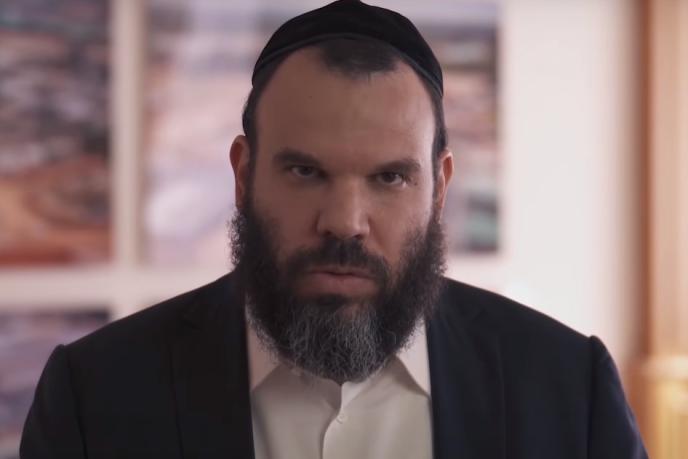 Capture d'écran de la vidéo de Dan Gertler diffusée le 16novembre 2020.