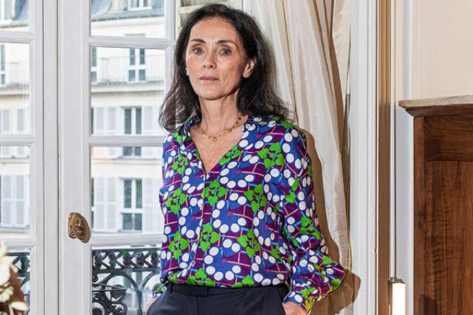 L'avocate Jacqueline Laffont, dans son cabinet, boulevard Saint-Michel, à Paris, le 16novembre 2020.
