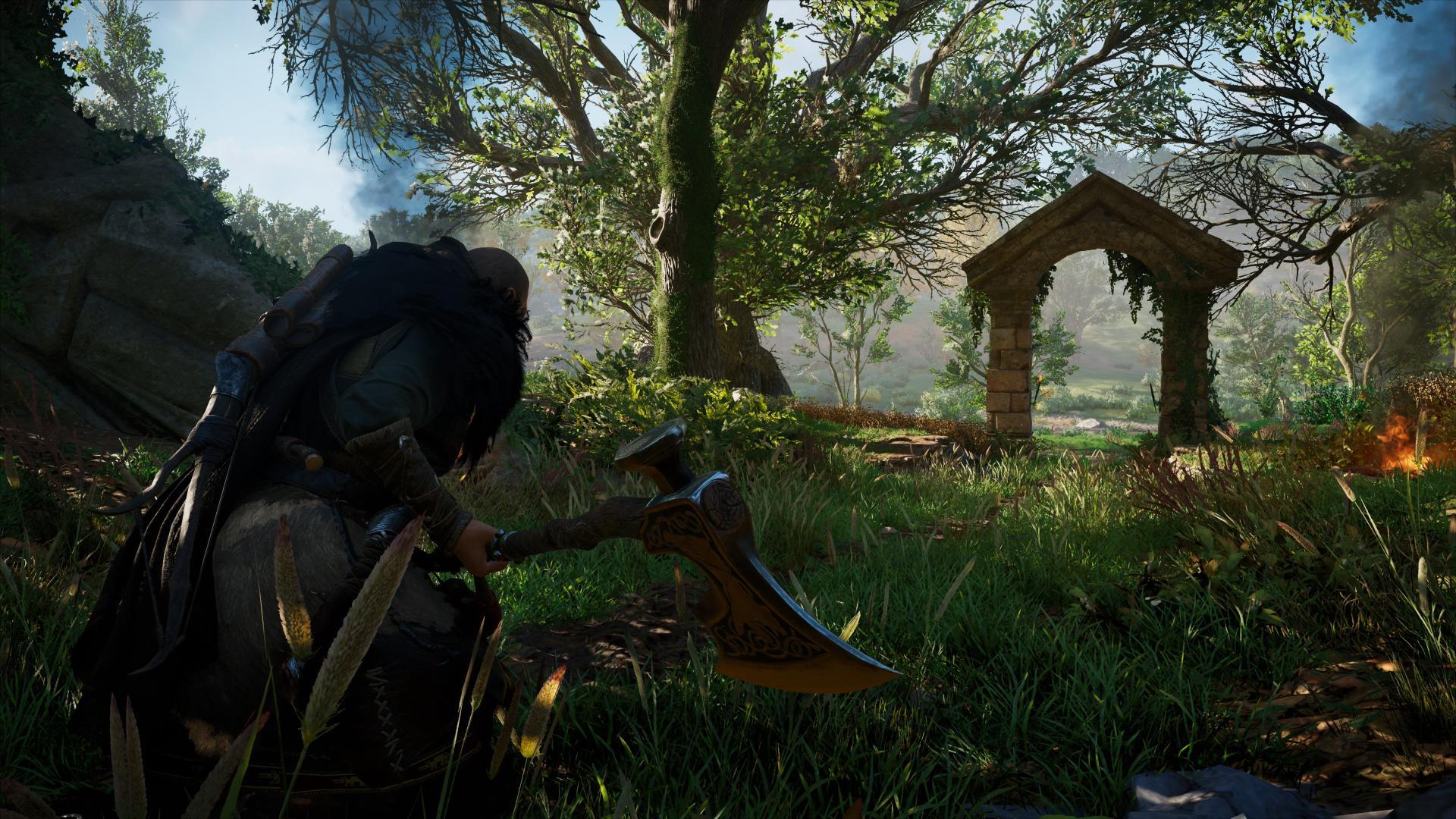Rarement la nature aura été plus luxuriante dans un jeu en monde ouvert.