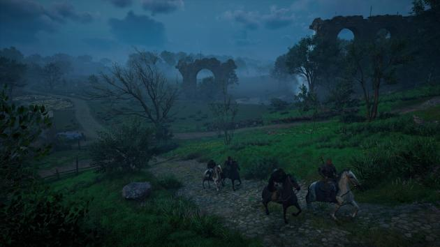 Avec ses ruines romaines omniprésentes,«Assassin's Creed Valhalla» prend un tour post-apocalyptique inattendu.