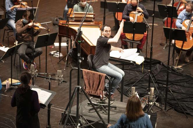 L'Orchestre de l'Opéra de Rouen Normandie, dirigé par Ben Glassberg, ennovembre.