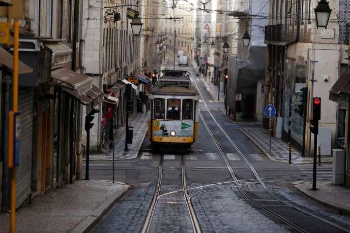 À Lisbonne, le 19 novembre.