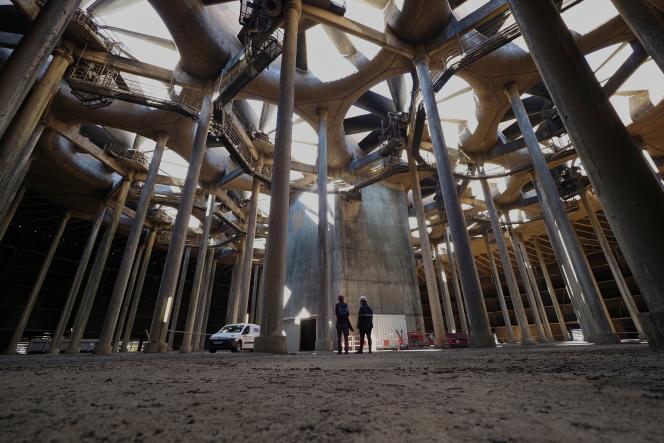 A la centrale nucléaire de Chinon, à Avoine (Indre-et-Loire), le 8 juillet 2020.