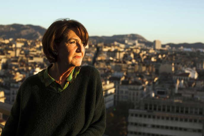 L'architecte et urbaniste Chantal Deckmyn, en novembre 2020, chez elle, à Marseille.
