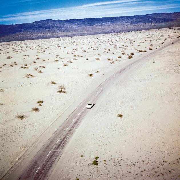 Une photo du désert du Colorado par Robert Doisneau.