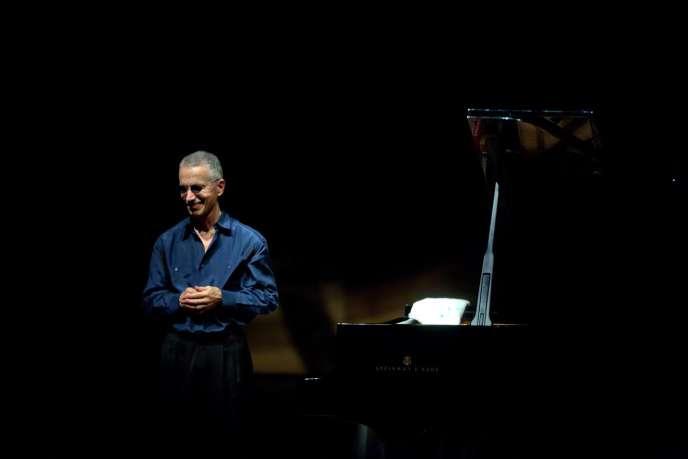 Keith Jarrett, en 2011, lors d'un concert à Séoul.