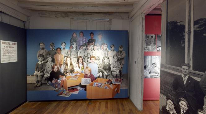 Exposition «Métier d'enseignant(e), métier d'élève» au Musée national de l'éducation, à Rouen, en novembre 2020.
