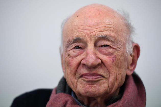 Le sociologue Edgar Morin, à Montpellier, le 13 mars 2019.