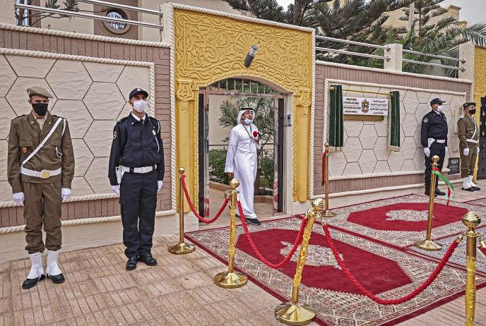 Le consulat des Emirats arabes unis à Laâyoune, en novembre 2020.