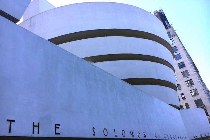 Le Musée Guggenheim à New York, l'une des constructions les plus célèbres de l'architecteFrank Lloyd Wright.