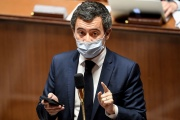 Gérald Darmanin, à l'Assemblée nationale, à Paris, le 20 novembre.