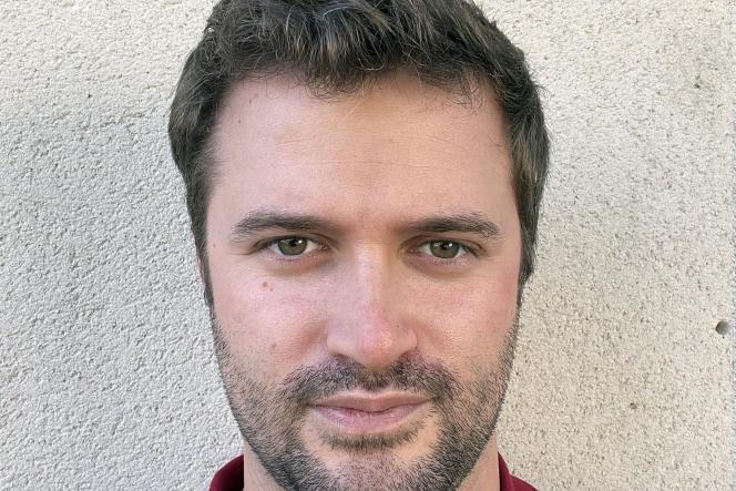 Lucas Reynaud, interne en réanimation à l'hôpital de Montélimar (Drôme).
