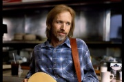 Tom Petty lors de l'enregistrement de l'album « Wildflowers ».
