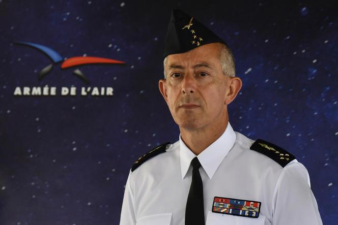 Le général Philippe Lavigne, chef d'état-major de l'armée de l'air et de l'espace, en juillet 2019.