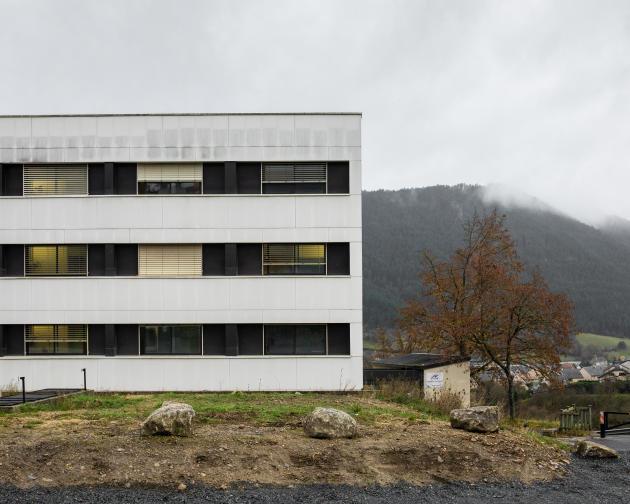 Le centre hospitalier de Mende, le 15 novembre 2020.
