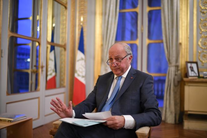 Laurent Fabius, président du Conseil constitutionnel depuis 2016, à Paris, le 4 janvier 2019.